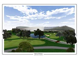 Golf Course Rendering